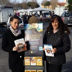 .@jw_witnesses | Public witnessing near a public market in Rome, Italy. Photo shared by @Miri Atias... | Webstagram