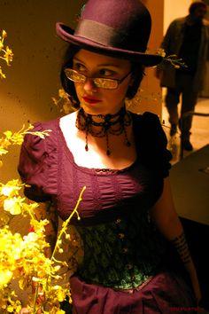 ~ Simone ~  Dragon*Con. Atlanta. 2011. Marriott Marquis. Atrium Lounge Alcove.