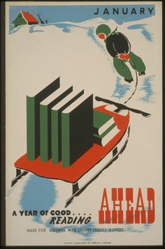 Every Book Is a Journey, But These Old Posters Make Reading Seem Like a Trip | Atlas Obscura