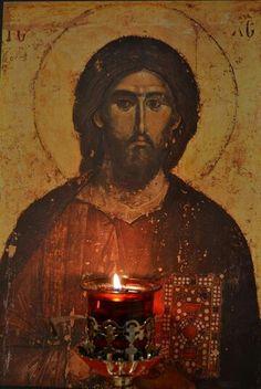 Господе Исусе Христе, Сине Божији, ради молитава Пречисте Твоје Матере и свих светих, помилуј нас. Амин.   Слава Теби, Боже наш, слава Теби!   Царе Небесни, Утешитељу, Душе Истине, Који си свуда и све испуњаваш; Ризницо добара и Животодавче, дођи и усели се у нас, и очисти нас од сваке нечистоте, и спаси, Благи, душе наше.   Свети Боже, Свети Крепки, Свети Бесмртни, помилуј нас. (трипут)   Слава Оцу и Сину и Светоме Духу, и сада и увек и у векове векова! Амин.