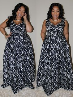 I am a sucker for a great black and white print. This dress right here? Joni Marie Ross is serving it up and she does this in plus sizes too~ Designer Spotlight: Currently Obsessed with Joni Marie Ross http://thecurvyfashionista.com/2016/04/designer-spotlight-currently-obsessed-with-joni-marie-ross/