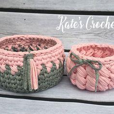 Проданы #kate_s_crochet #интерьерныекорзинки #вяжуназаказ #вяжукрючком #тпряжа #трикотажнаяпряжа #пряжалента Crochet Art, Crochet Round, Crochet Home, Crochet Stitches, Free Crochet, Crochet Circle Pattern, Crochet Circles, Crochet Patterns, Sweet Home Design