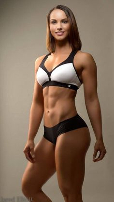 ATHLETIC SCULPTED BODY of brunette #Fitness model : if you LOVE Health, Workouts & #Inspirational Body Goals - you'll LOVE the #Motivational designs at CageCult Fashion: http://cagecult.com/mma