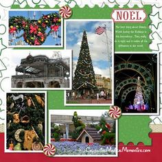 Scrapbooking Disney Christmas Pages #DisneyScrapbooking #Scrapbooking #DisneyMemories #CreatingDisneyMemories