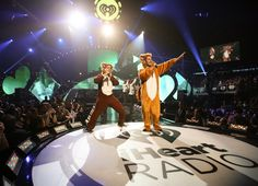 Ylvis performs onstage during the iHeartRadio Music Festival at the MGM Grand Garden Arena on September 20, 2013 in Las Vegas, Nevada. (Photo by Christopher Polk/Getty Images for Clear Channel)