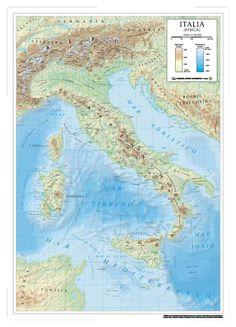 Series:  School wall maps Scale:  1:1.100.000 Format:  90 x 138 cm