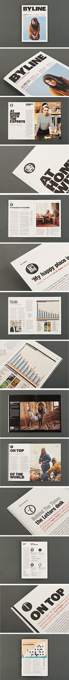 Byline, new members magazine for Times subscribers