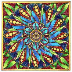 August Mandala 4 Finished by Artwyrd.deviantart.com on @deviantART
