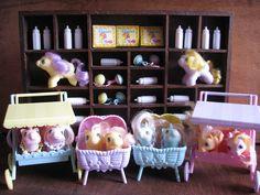 (OMG) Vintage My Little Pony Newborn twins by Siri_Mae_doll, via Flickr
