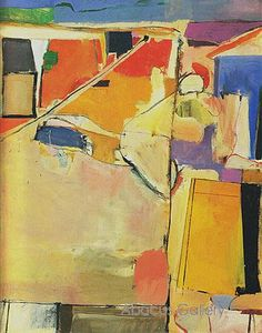 Richard Diebenkorn Urbana No 5 Beachtown 1953