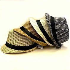 92e8d4f873967 Stingy brim fedoras provide handsome men s dress ahts in four colors.  http