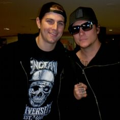 M. Shadows and Synyster Gates