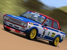 「safari rally datsun510」の画像検索結果