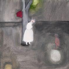 laura ferrera - oil on canvas - enchanted