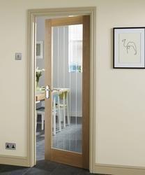 Genoa Oak Glazed | Internal Harwood Doors | Doors u0026 Joinery | Howdens Joinery & Primed Dordogne Glazed | Internal Stile u0026 Rail Doors | Doors ...