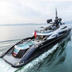 Riding in The Lap of Luxury Travel With a Virgin Island Yacht Charters Yacht Design, Boat Design, Yacht Luxury, Luxury Life, Luxury Boats, Luxury Travel, Yachting Club, Bateau Yacht, Grand Luxe