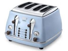 Search Delonghi icona toaster blue. Views 18366.