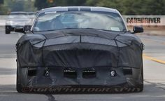 The mightiest Ford Mustang in the stable gallops into view. Read more about the twin-turbocharged Mustang Shelby GT500 and see spy photos at Car and Driver.