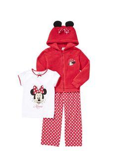 Disney Minnie Mouse 3 Piece Loungewear