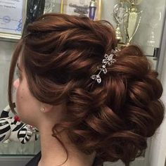 Bridal Hair Buns, Bridal Hairdo, Bridal Hair And Makeup, Wedding Hairstyles For Long Hair, Bride Hairstyles, Messy Hairstyles, Hair Styles 2014, Long Hair Styles, Hair Style Vedio
