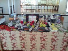 Tavolo dei premi, concorso fotografico FotografiAmo Turris,  edizione 2014