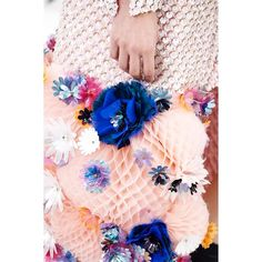 Today's inspiration: Lots of florals and intricate details from SS 15 couture collection by Chanel. #pejtrend #pejgruppen #inspiration #fashion #chanel #floral #pink #flowers #detail #style #couture