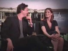 "Sandra Bullock & Keanu Reeves about making a movie ""The Lake House"" - http://hagsharlotsheroines.com/?p=40030"