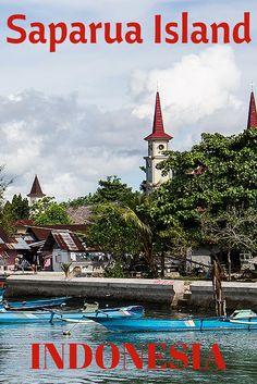 Visit the Indonesian Spice Islands of Saparua and Ambon, Moluccas, Indonesia Maluku