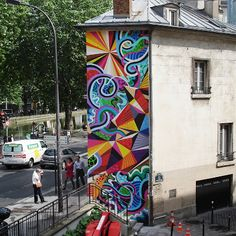 MWM NEWS BLOG: Paris Mural : Le Finale.