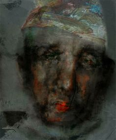 Alexei Chekini----Холст/акрилик, пастельные карандаши, цветной воск 65 см x 45 см 2005 г.
