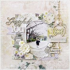 Blue Fern Studios: Deja Vu Collection layout Yuko
