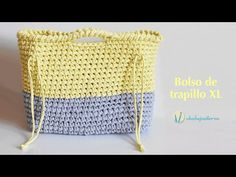 Bolso de trapillo XL - YouTube