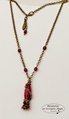 Biżuteria ze Szczyptą Magii by SHINE: RUBINOWY  ELIKSIR...