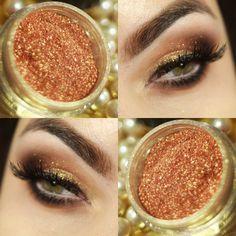 Pigmento HD Audrey dourada da Yes Cosmetics                                                                                                                                                     Mais