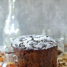 Rich Christmas Fruitcake Recipe | Yummly Christmas Fruitcake, Christmas Cakes, Christmas Recipes, Dried Apricots, Dried Cranberries, Cake Recipes, Dessert Recipes, Desserts, Dark Fruit Cake Recipe