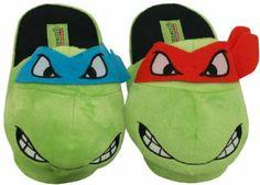 Teenage Mutant Ninja Turtles Slippers Leonardo & Raphael TMNT