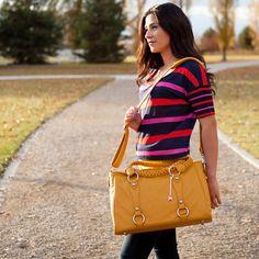 Livy Camera Bag Mustard
