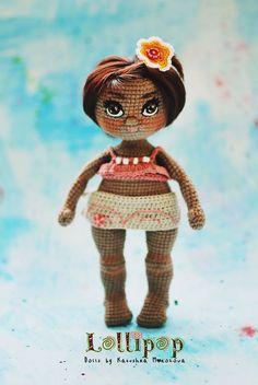 Crochet dolls, pattern and love ♥ by Katushka Morozova by KatushkaMorozova Crochet Doll Pattern, Crochet Toys Patterns, Amigurumi Patterns, Stuffed Toys Patterns, Crochet Dolls, Doll Patterns, Doll Videos, Human Doll, Thing 1