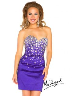 Prom season may be over..... but HOMECOMING is right around the corner! You'll look fab in Mac Duggal!
