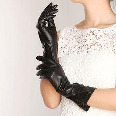 Gants cuir - long Leather gloves