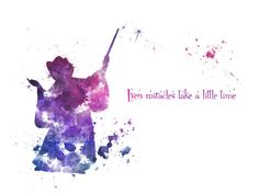 ART PRINT The Fairy Godmother Quote 'Even Miracles by SubjectArt