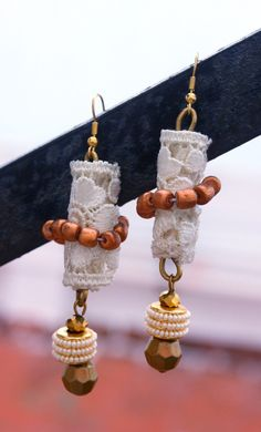 How To Make Lacy Summer Earrings