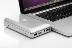 MUST have! mLogic mDock: USB hub and external hard drive for your Mac