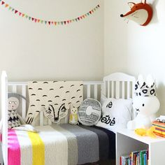 Toddler room from @alfiewildloves on Instagram