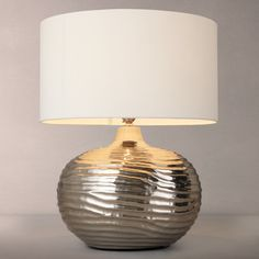 Tabitha distressed mirror table lamp distressed mirror john lewis buy john lewis ise waves metal table lamp antique brass from our desk table lamps range at john lewis free delivery on orders over mozeypictures Gallery