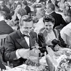 Walt Disney celebrating!
