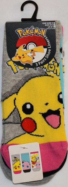 Boys 4-20 Pokemon Pikachu Slippers