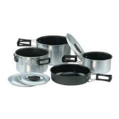 Sunncamp Family XL Non Stick 7 piece Cook Set | UK | World of Camping