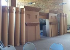 Cardboard Ancient City