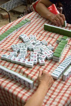 Chinese leisure games - Mahjong